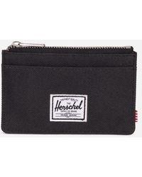 Herschel Supply Co. Black Oscar Wallet