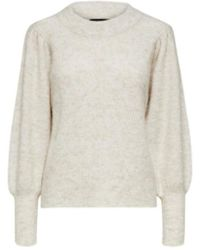 SELECTED Beige Linna Knitted Sweater - Multicolor