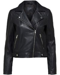 SELECTED Https://www.trouva.com/it/products/selected-femme-slfkatie-leather-jacket-black-1 - Nero