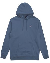 Tommy Hilfiger - Tommy Jeans Classic Hoodie Dutch Blue - Lyst