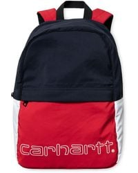 Carhartt Https://www.trouva.com/it/products/-terrace-backpack-cardinal-dark-navy-white - Rosso