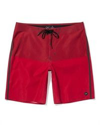 Outerknown Red Apex Boardshort - Rosso