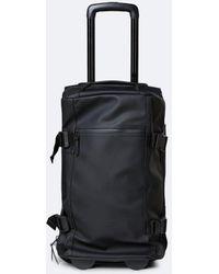 Rains Travel Bag Small - Black