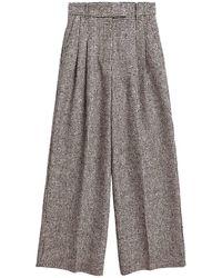 By Malene Birger Pantalon Large Cymbaria Noir - Multicolore