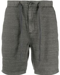 John Varvatos Benson Drawstring Bermuda Shorts - Gray