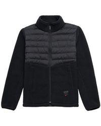 Herschel Supply Co. Giacca ibrida Sherpa Full Zip nera - Nero