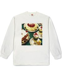 Levi's Vintage Clothing Happy Mondays Limited Edition 80's Ls Graphic Tee Squirrel Multi-colored - Multicolour