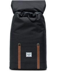 Herschel Supply Co. Mid Volume Black Retreat Backpack
