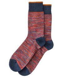 Nudie Jeans China Red Rasmusson High Socks