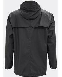 Rains Black Breaker Jacket