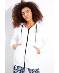 adidas By Stella McCartney Https://www.trouva.com/it/products/adidas-x-stella-mccartney-sportswear-hooded-sweatshirt-white - Multicolore