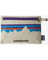Patagonia Bleached Stone P 6 Fitz Roy Zippered Pouch - Multicolor