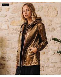 Minimum Raincoat Coupe Vent Gold - Multicolour