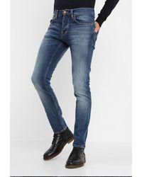 Nudie Jeans Vaqueros Grim Tim Slim Fit - Azul