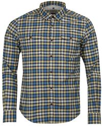 Barbour International Steve Mcqueen TM Camisa slim fit de cuadros con salida - Multicolor