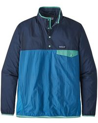 Patagonia Ms Houdini Snap TPO Port Blue