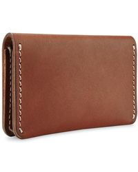 Red Wing Porte-Cartes Portefeuille Oro Russet Frontier - Marron
