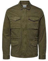 SELECTED Daniel M 65 Jacket Olive - Green