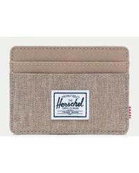 Herschel Supply Co. Porte-cartes Charlie Kelp Crosshatch - Multicolore
