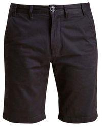 Barbour Shorts sarga Neuston Negro - Azul