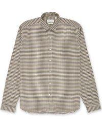 Oliver Spencer - Camicia con linguetta Clerkenwell color Thorndon Multi - Lyst