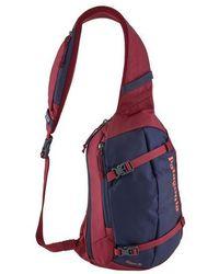 Patagonia - Arrow Red 8 L Atom Sling Backpack - Lyst