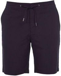 Barbour - Pantalones Cortos Bay Ripstop Azul Marino - Lyst