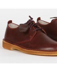 Clarks Chaussures London Desert noires taille 9 - Marron