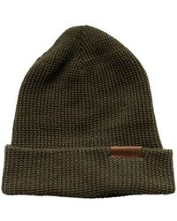 Red Wing Merino Wool Beanie Hat Olive - Green
