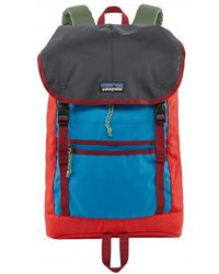Patagonia 25l Catalan Coral Patchwork Arbor Classic Backpack - Red
