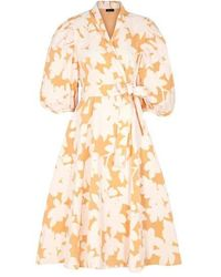 Stine Goya Belinda Wrap Dress Flora - Multicolore