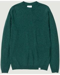 Norse Projects Sigfred Light Wool - Verde