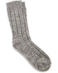 Birkenstock Calcetines Fashion Twist gris claro
