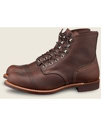 Red Wing 8111 Iron Ranger Boots - Brown