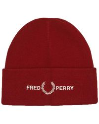 Fred Perry - Bonnet Siren Graphic - Lyst