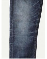 Nudie Jeans Fearless Freddie Jeppe Replica L32 - Blu