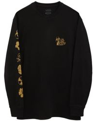 Vans Camiseta manga larga Dark Tiki Negra - Negro