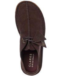 Clarks Zapatos Desert Trek Marrón Oscuro - Multicolor