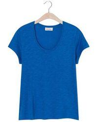 American Vintage - Jac 48 Camiseta Lagoon - Lyst