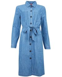 Barbour Womens Tynemouth Dress Authentic Wash - Blue