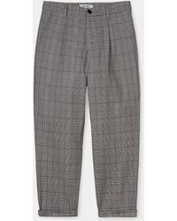 Carhartt Pantalón tobillero W Pullman Glencheck negro - Gris