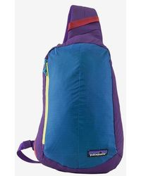 Patagonia Backpack Ultra Light Black Hole Sling Patchwork Purple
