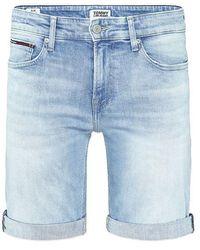 Tommy Hilfiger Tommy Jeans Scanton Slim Short Light - Bleu