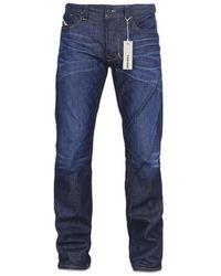 DIESEL Larkee 806 W Jean Coupe Droite Bleu
