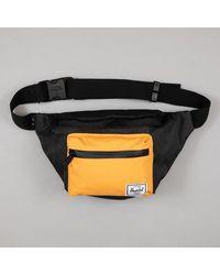 Herschel Supply Co. Seventeen Hip Bum Bag In Black & Orange - Multicolor