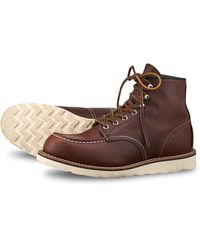 """Red Wing Red Wing 87519 Moc Toe 6 Inch """"oro-harness"""" Upper Tier Special - Brown"""