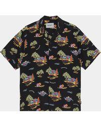 Carhartt - S S Beach Shirt Black - Lyst