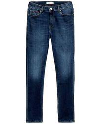 Tommy Hilfiger Tommy Jeans Scanton Slim Jeans Bbks Foncé - Bleu