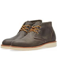 Red Wing - Red Wing 3150 Heritage Work Chukka Charcoal Rough & Tough - Lyst