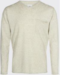 Minimum Seneca Rock Melange Helmuth Sweater - Natural
